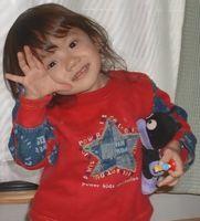 2歳頃の清原果耶