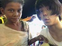 村上虹郎と少年