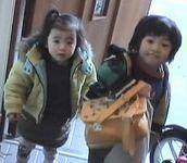 詠斗くん3歳とうたちゃん2歳